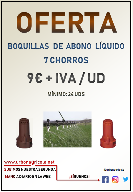 Oferta Boquillas